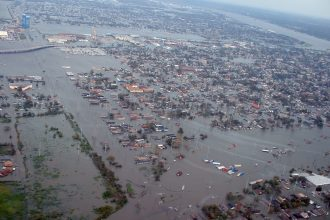 Hurricane Katrina ravaged New Orleans in August 2005