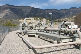Natural gas operation in the Piceane Basin