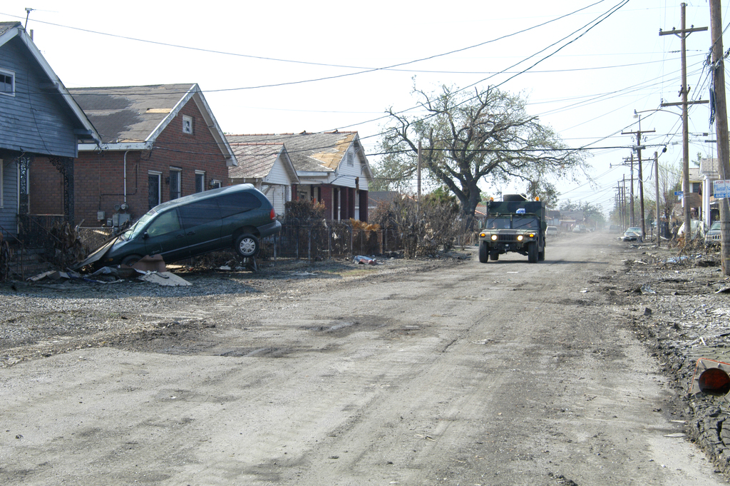 St. Bernard's Parish in the aftermath of Hurricane Katrina
