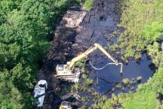 The dilbit pipeline spill that fouled the Kalamazoo River in 2010 could draw Enbridge a record fine.
