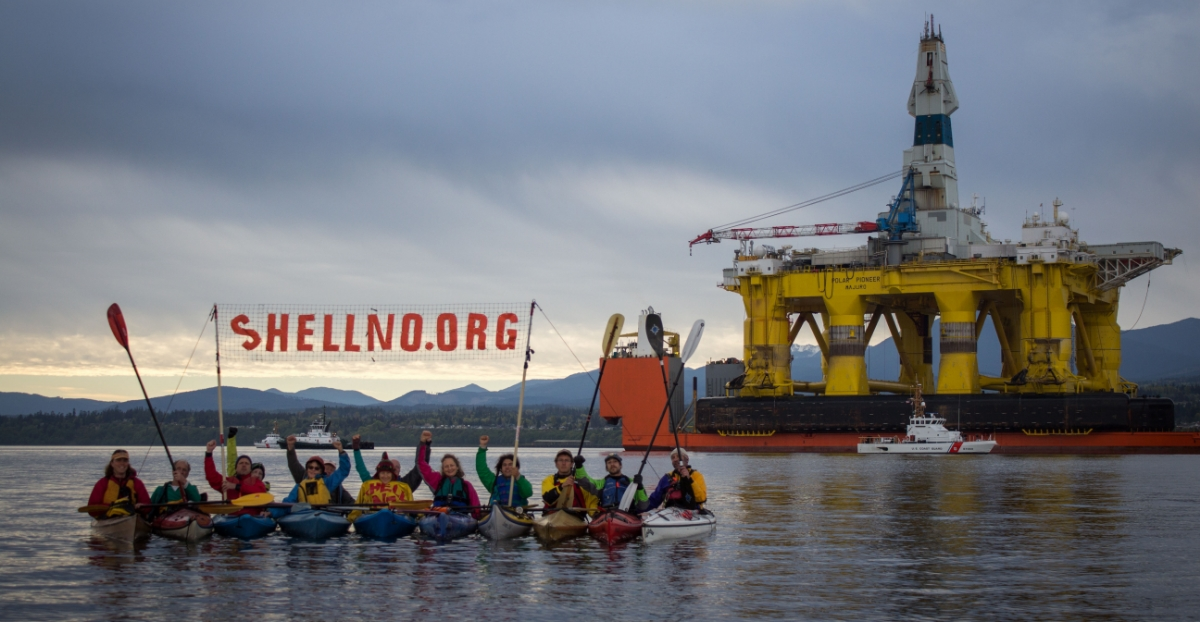 Shell's Arctic drilling has won it many enemies in the climate movement