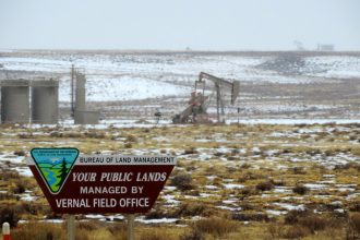 Nearly 67 million acres of public land is leased for fossil fuel extraction.