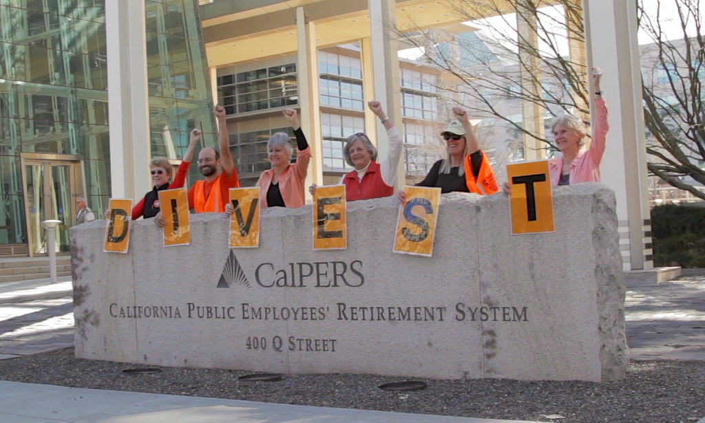 Activists in California were successful in getting a divestment bill passed.