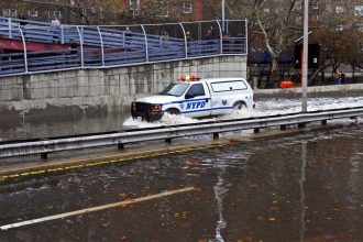 Flooding of the level seen with Hurricane Sandy could become more common in New York