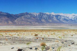 California's Sierra Nevada mountains are perilously low on snow.