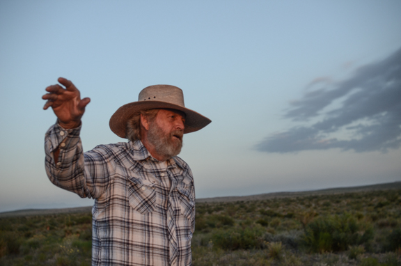 James Spriggs is leading the fight against a West Texas natural gas pipeline.