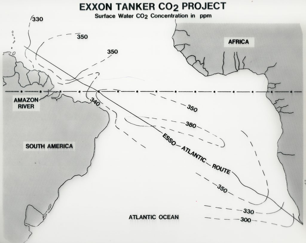 Esso Atlantic Tanker Route
