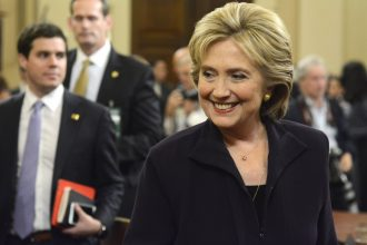 Hillary Clinton agrees the Justice Department should look into Exxon's climate history