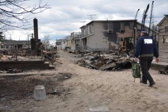 Hurricane Sandy ravaged New York City in 2012