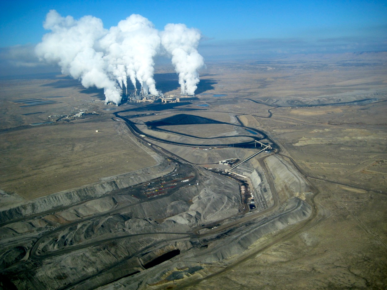 The San Juan Generating Station is New Mexico's largest coal power plant