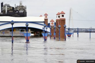 The current flooding along the Mississippi River is the latest flood disaster.
