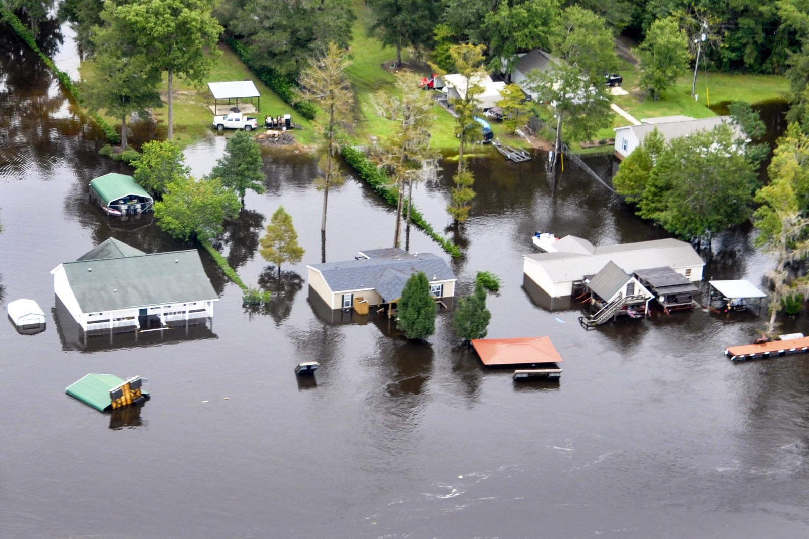 South Carolina experienced historic flooding in October 2015