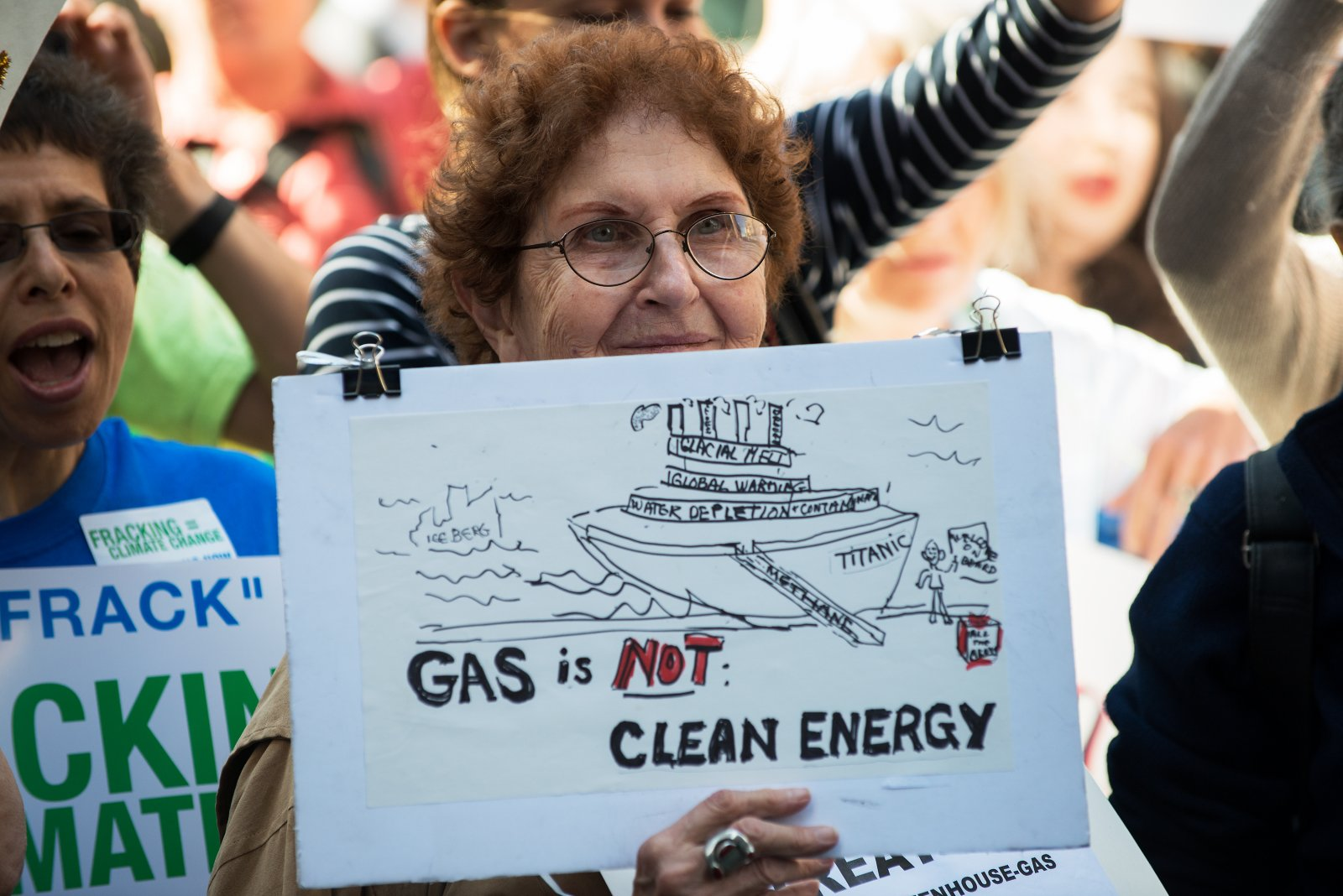 Fracking protests have spread across the country