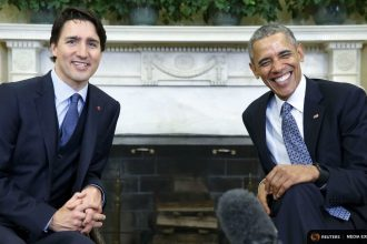 President Obama and Canada's Prime Minister Trudeau met in the Oval Office Thursday