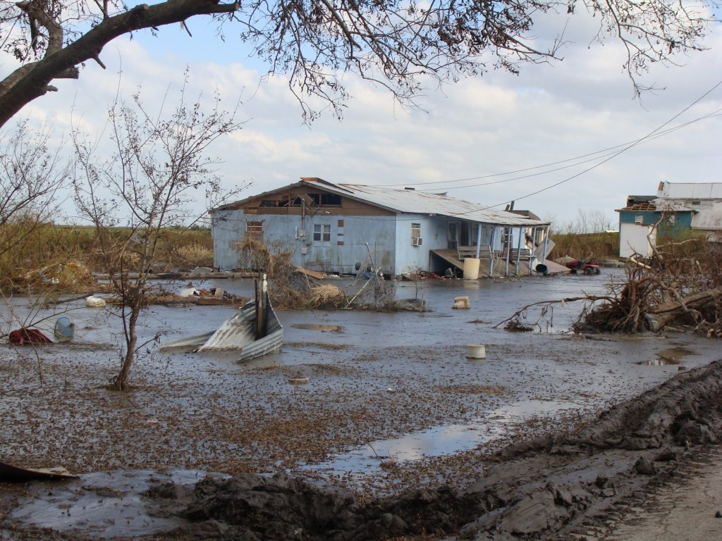 The Isle De Jean Charles has been devastated by rising sea levels
