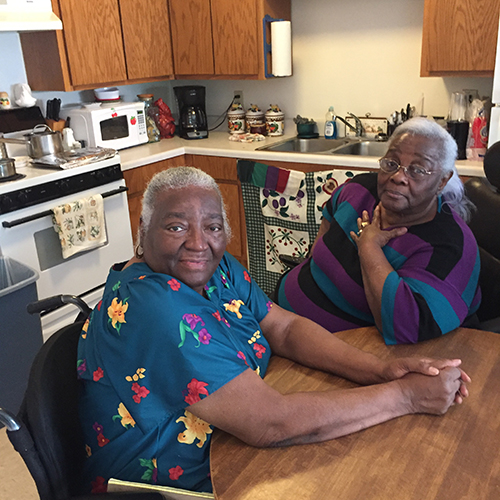 Thelma Lett and Nancy Porter