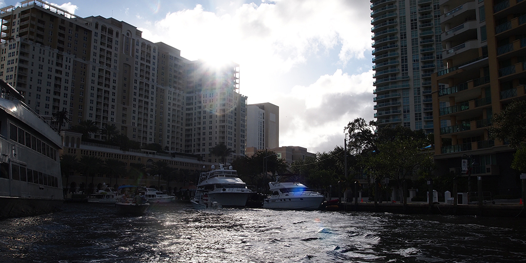 On the water in Fort Lauderdale