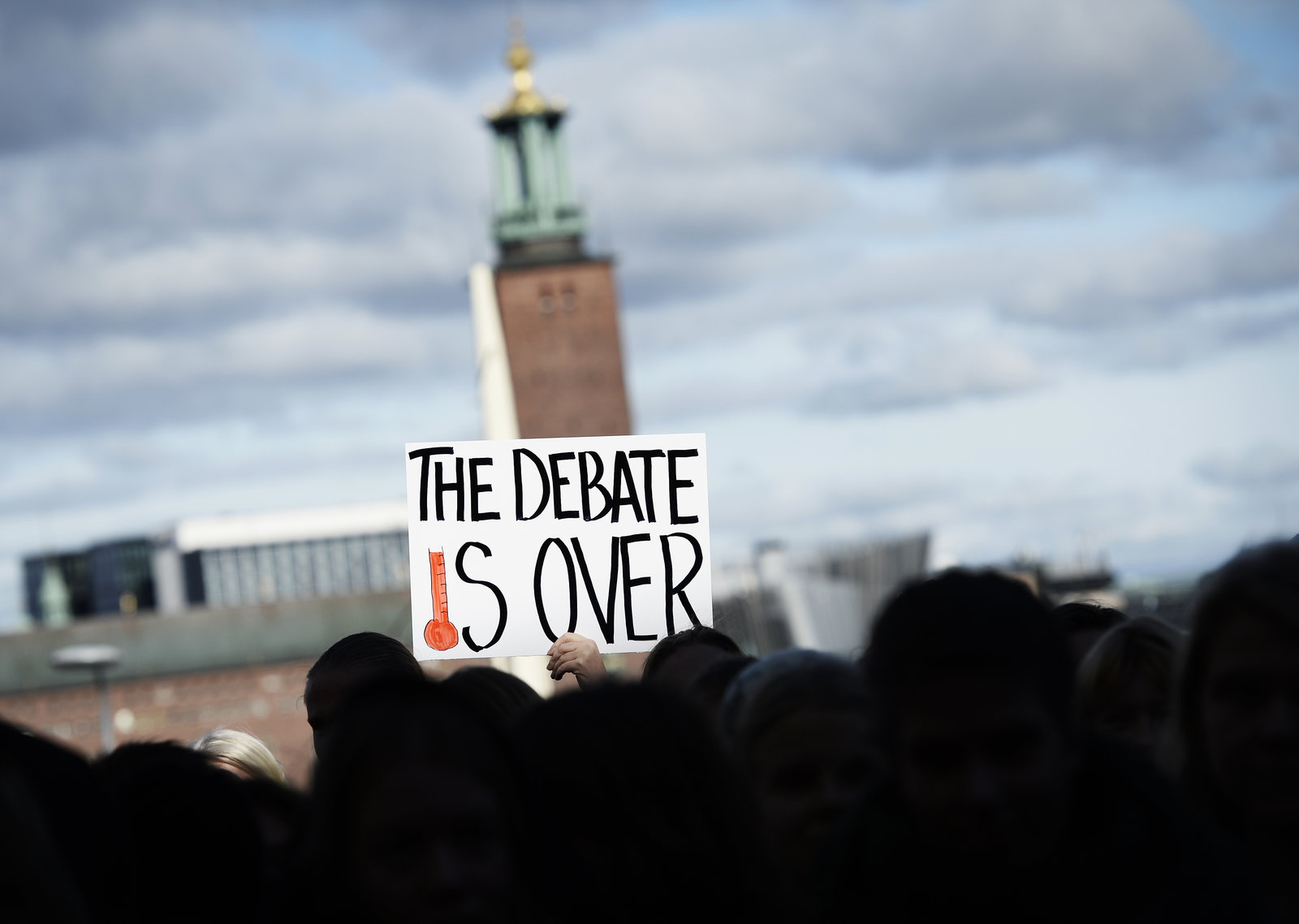 Public opinion in most of the world is in line with the science, but not in the U.S.