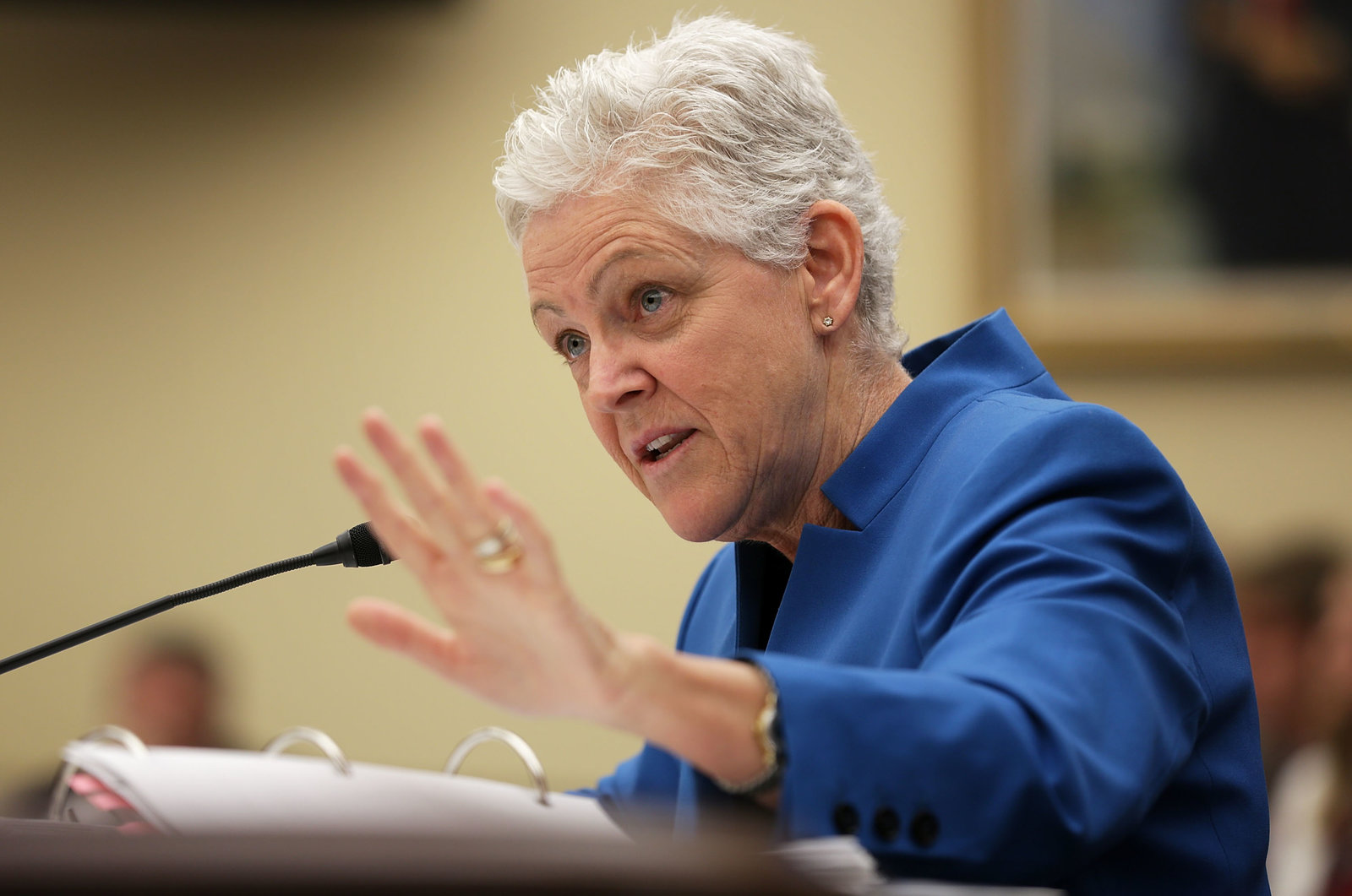 EPA chief Gina McCarthy has long said the agency would tackle methane emissions