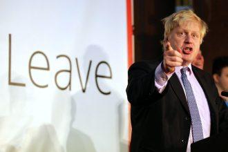 London's former mayor, Boris Johnson, led the Brexit Leave campaign