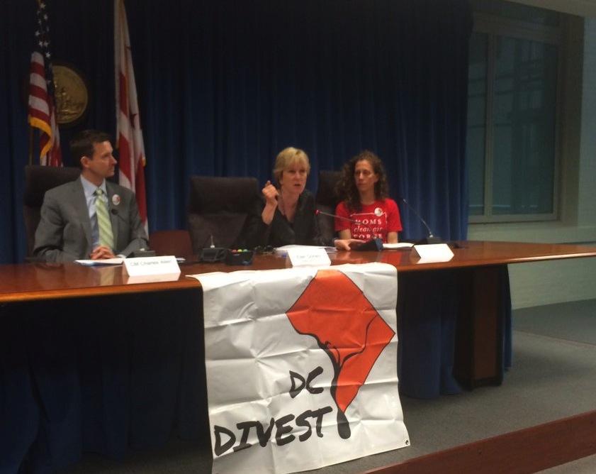 DC Divest made a big divestment announcement Monday