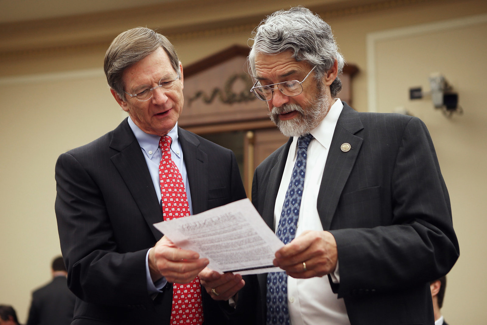 Rep. Lamar Smith has led Congressional efforts to cloud climate science