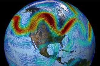 Extreme melting in parts of Greenland have been tied to jet stream shifts