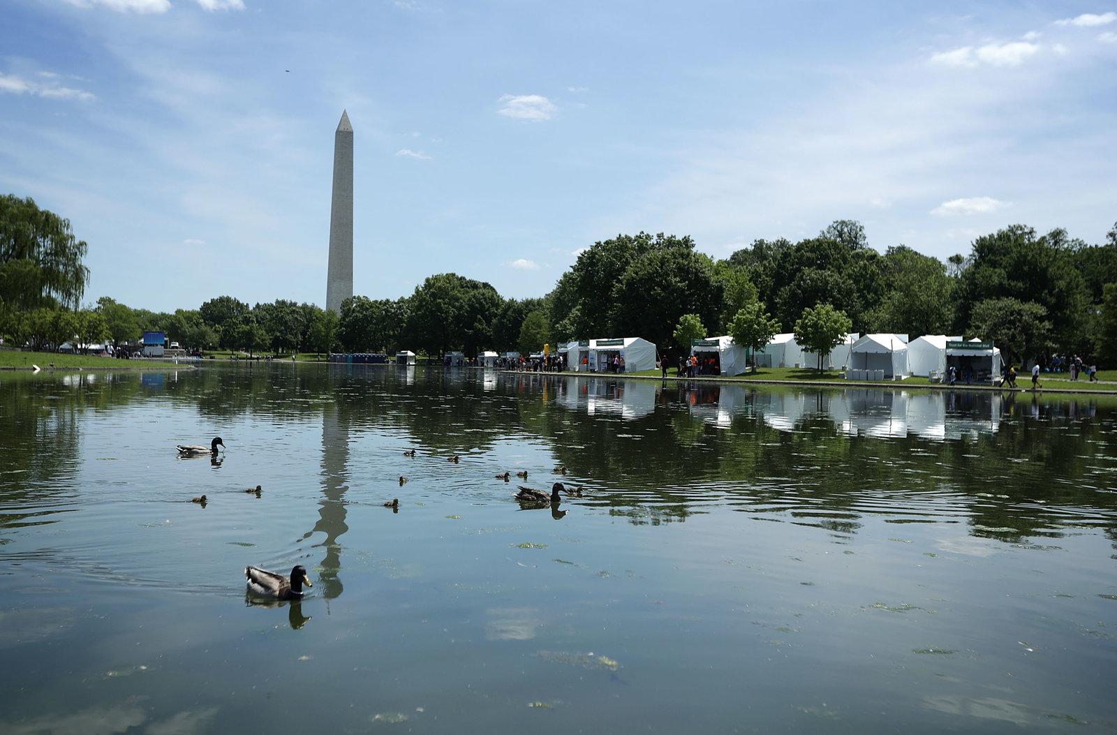 Washington D.C. made a major divestment announcement on Monday