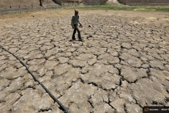 Another heat wave baked India in April