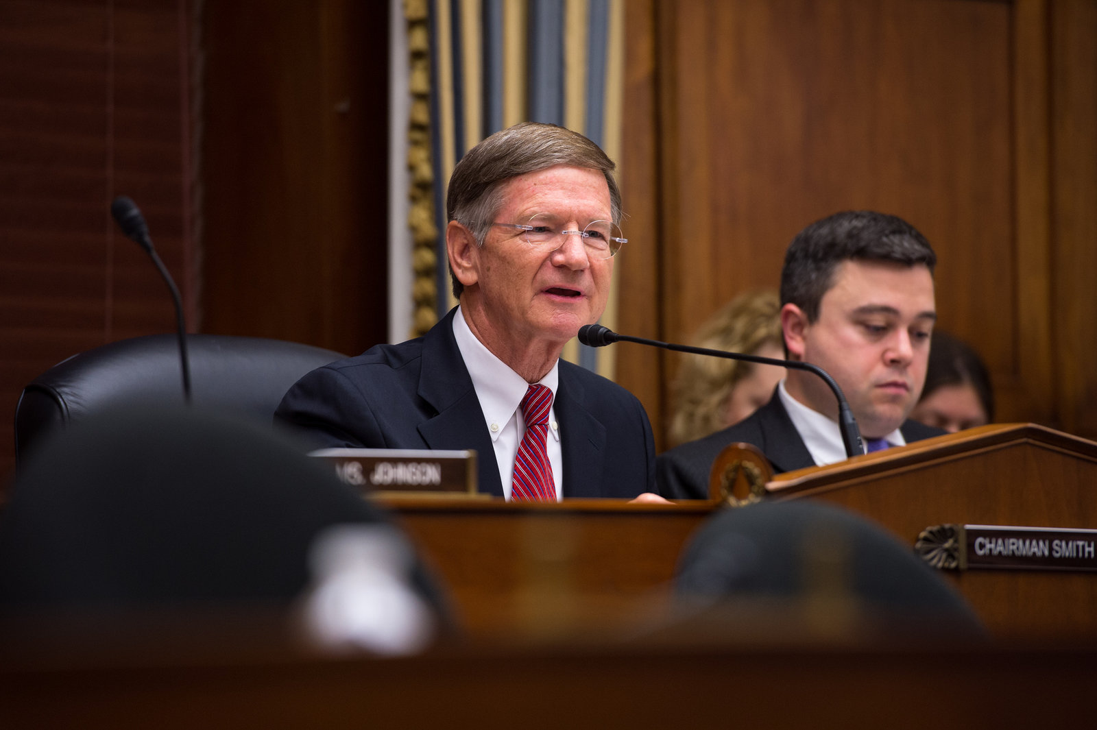 House Science Committee chair Lamar Smith continued his counterassault on the Exxon investigations