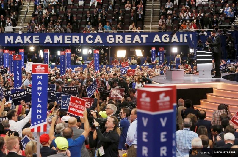 The Republican Party platform extolls fossil fuels and decries environmental regulations.