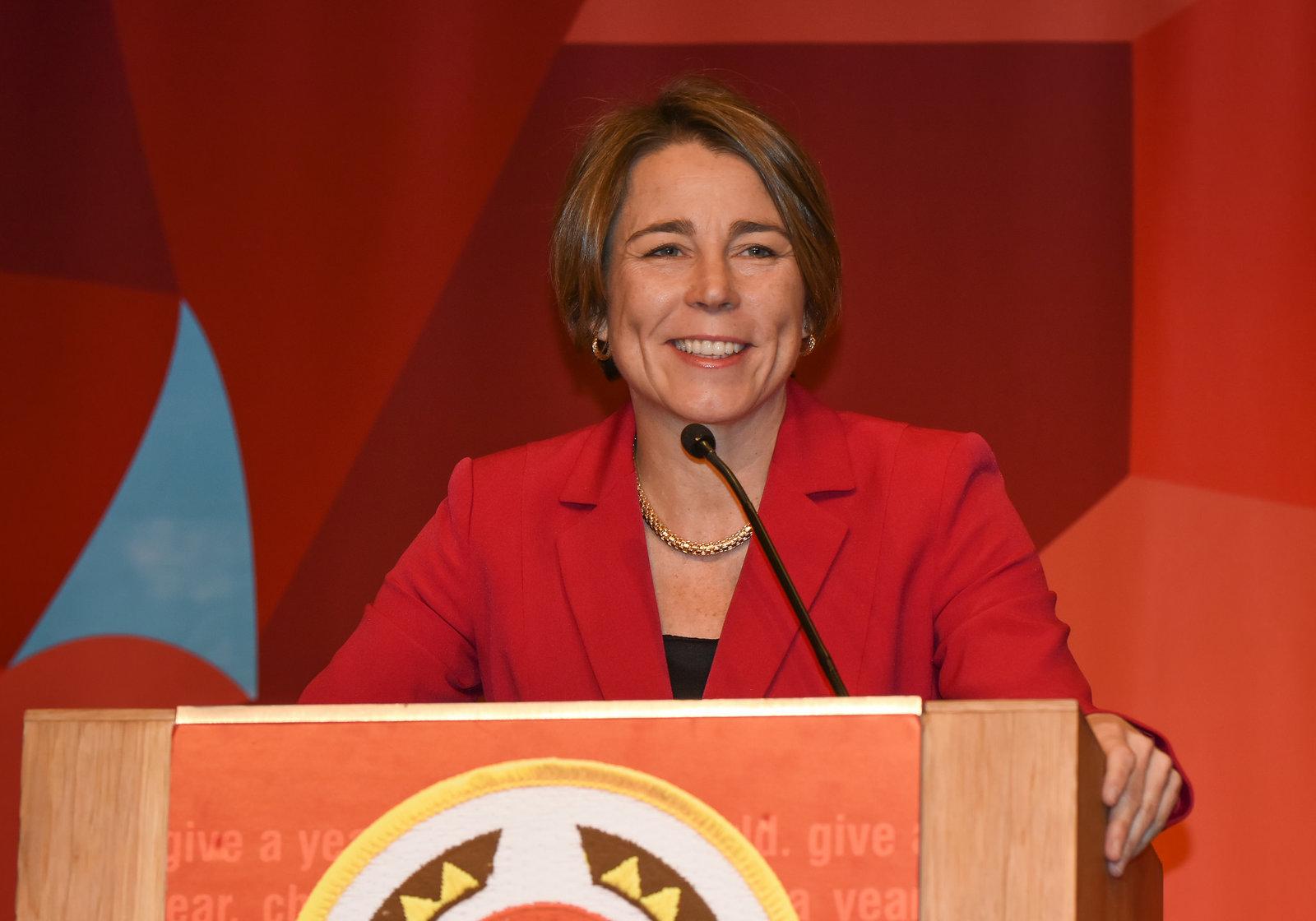 Massachusetts Attorney General Maura Healey has said she will defy Rep. Lamar Smith's subpoena