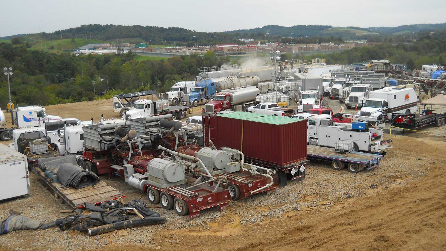 Natural gas production in Pennsylvania's Marcellus Shale is tied to increased asthma attacks