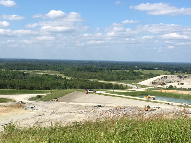 The Arrowhead landfill in Uniontown, Ala.