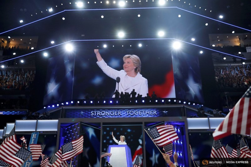 Hillary Clinton made little mention of climate change at the Democratic National Convention