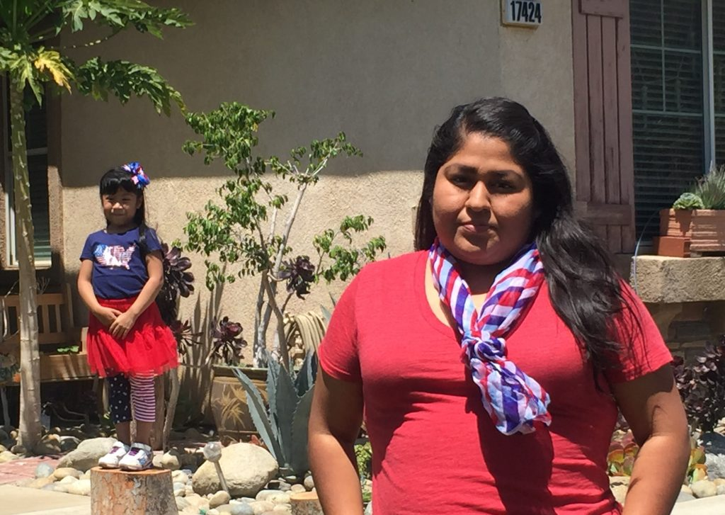 Carol Hernandez and her daughter, Alani