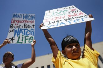 Native American protesters opposing the Dakota Access pipeline had federal support