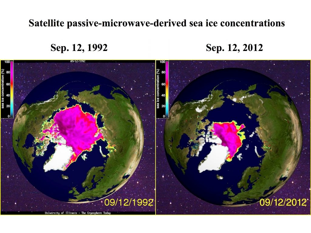 Arctic sea ice research shows unprecedented melting since 1979