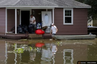 Downpours in Louisiana in August destroyed 60,000 homes.