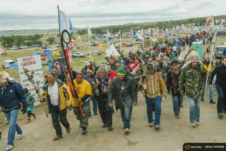 Native American protesters have succeeded in pausing construction of the Dakota Access pipeline