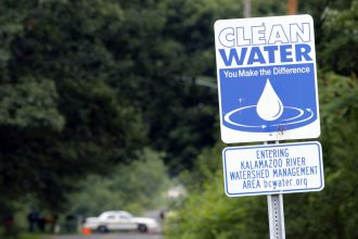 Michigan tribe fears a repeat of the Enbridge spill that fouled the Kalamazoo River in 2010