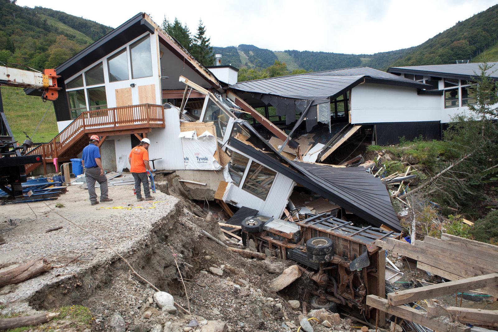 Massive flooding from Tropical Storm Irene left Vermont reeling