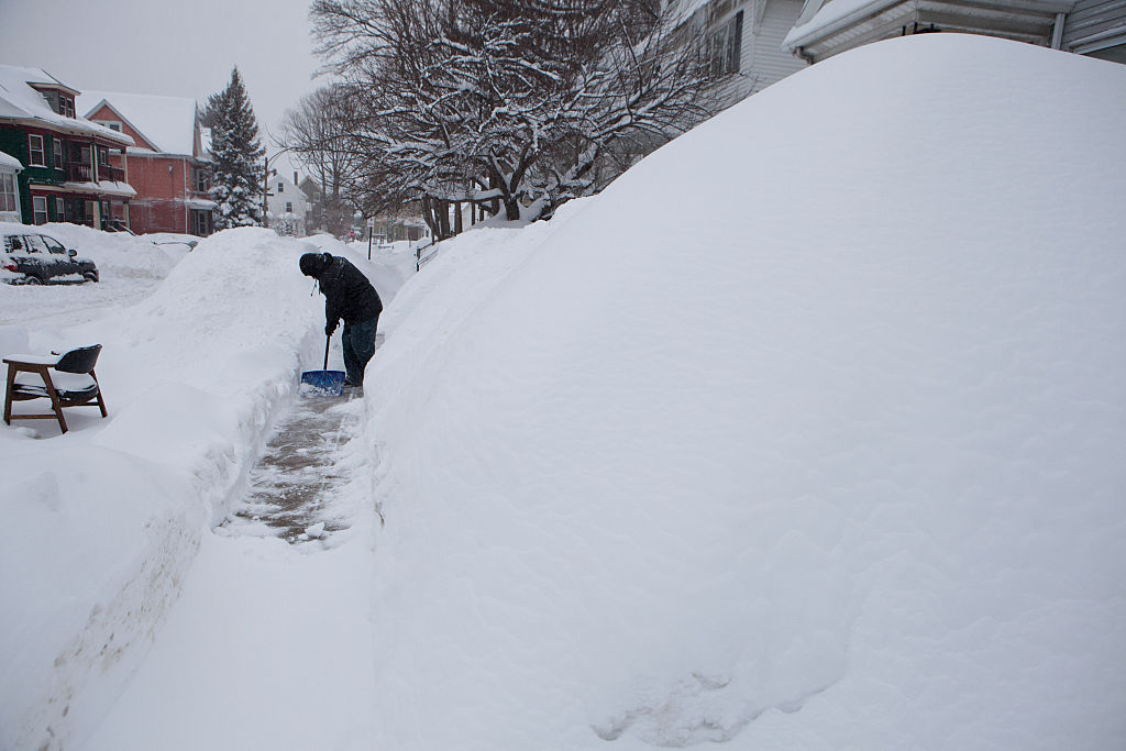 Boston's recent snowstorms have been part of a U.S. trend of cold winters in the East