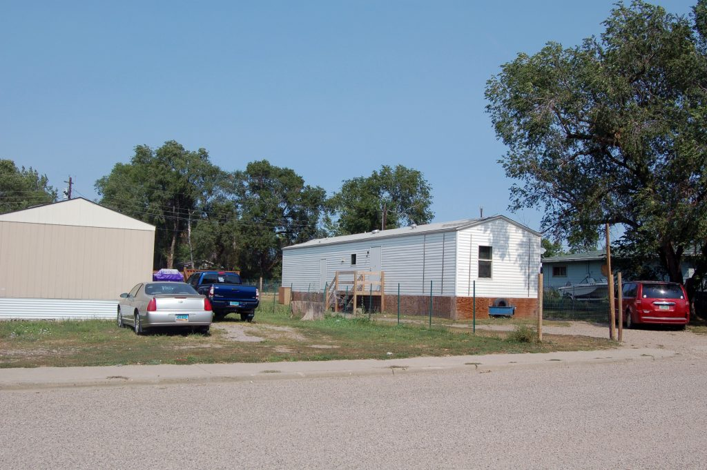 Houses in Fort Yates