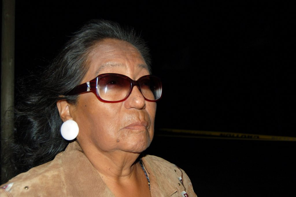 Phyllis Young of the Standing Rock Sioux