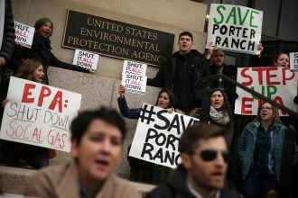 The Aliso Canyon methane leak prompted calls for federal action.