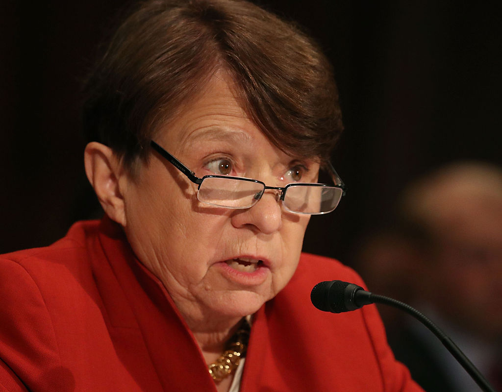 SEC chair Mary Jo White said she will not comply with Rep. Lamar Smith subpoena