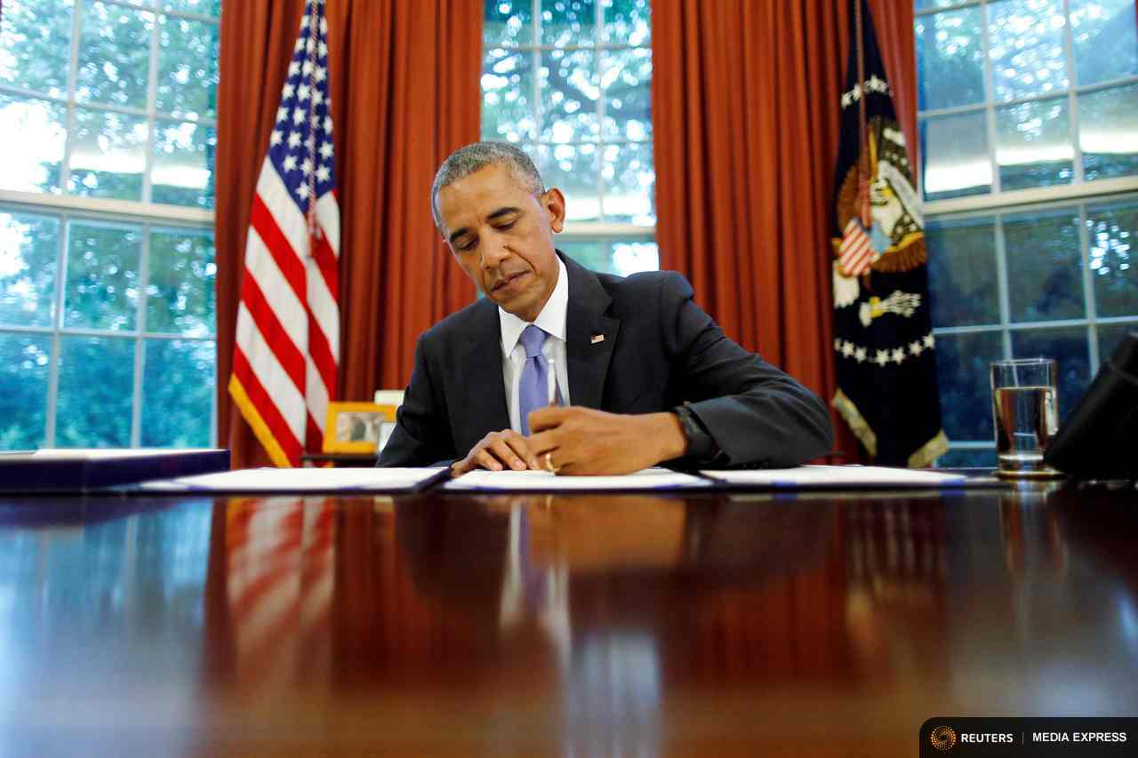 President Obama signed 263 executive orders, many involving climate change