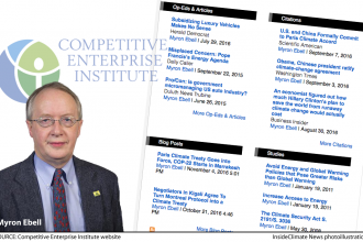 Myron Ebell of the Competitive Enterprise Institute