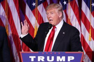 Donald Trump's victory speech after winning U.S. election